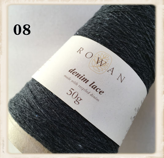 rowan denim lace black
